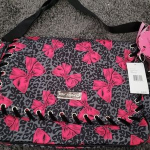 Betsey johnson baby bag
